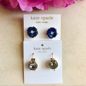 KATE SPADE EARRING/STUD LOT OF TWO